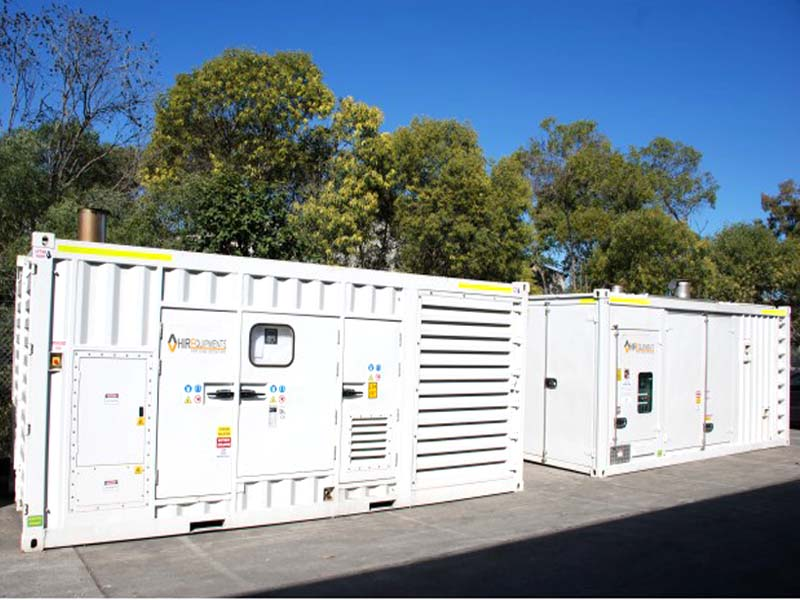 1 mw rental generator in uae