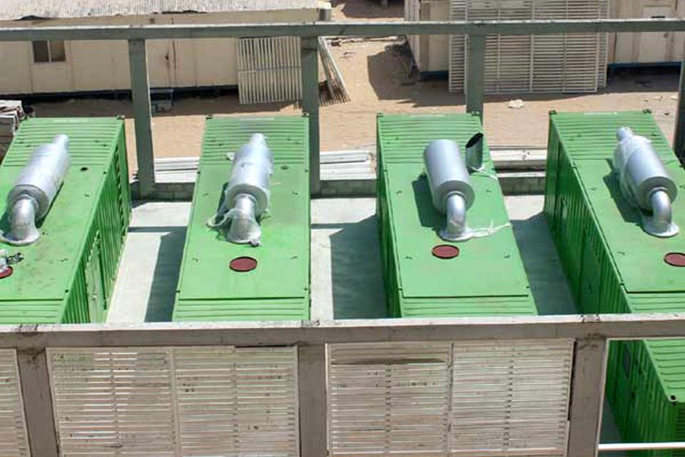 20 mw rental power plant